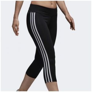 Adidas Design to Move Climate 3 Stripes 3/4 Tights